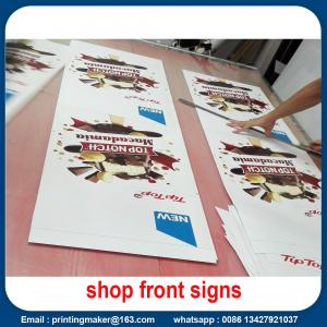 China Water Proof Promotional Front Porch Wall Flags Signs on sale