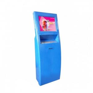 China Restaurant Self Ordering Bill Payment Kiosk with printer keyboard barcode scanner on sale