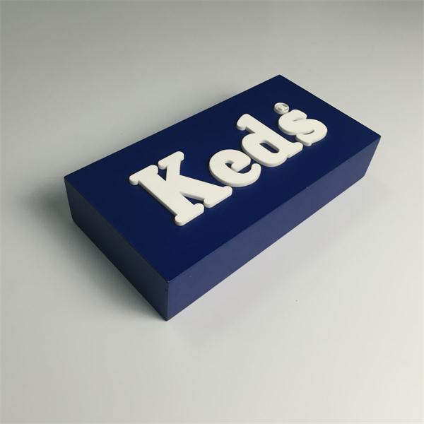 Custom acrylic sign block acrylic sign display thick for Custom acrylic blocks