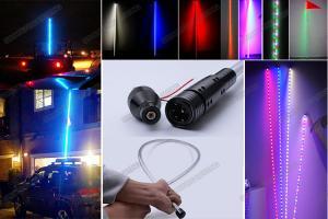 China Color Changing / Dancing ATV LED Light Whips / Flag Pole Lights 5050 SMD on sale