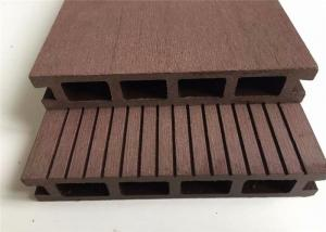China Wood Fiber Composite Outdoor Deck Flooring , Custom Wood Plastic Composite Decking Tiles on sale