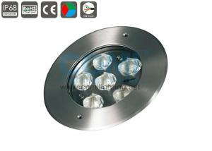 China 3 In 1 RGB Full Color LED Underwater Pool Lights Warm White 160mm Diameter on sale