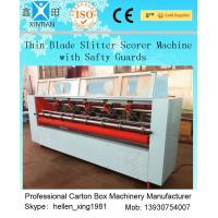 Folding Vertical Carton Cutting Machine / Corrugated Die Cutting Machine