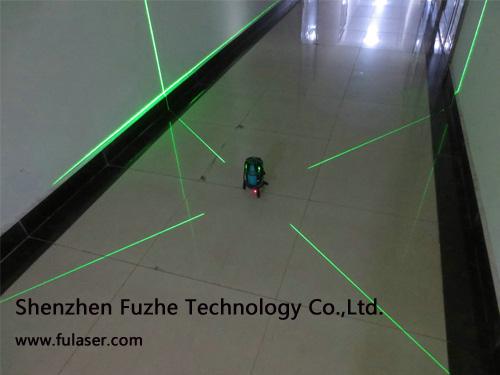 4v1h1d 5 Line Beam Green Laser Level Level Kit Leveling