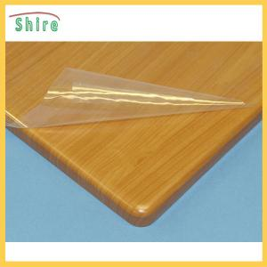 China Temporary Paint Protection Film Transparent Self - Adhesive Clear Plastic Film For Kitchen Cabinet on sale