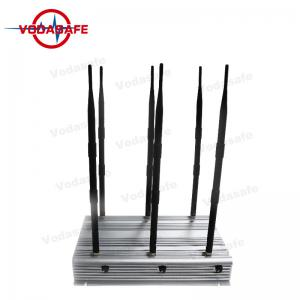 China High Power Cell Phone Jamming Device , Mobile Phone Scrambler 2G 3G 4G on sale