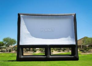China 0.4mm PVC Inflatable Movie Screen Billboard For Advertising on sale