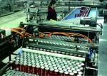 China Pushing Type Automatic Palletizer Machine Cage Loading / Unloading Equipment wholesale