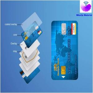 China Smart Card Material 0.1mm PETG Overlay Film Apply to Credit Cards ID Cards on sale