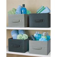 China non woven storage box with lid on sale