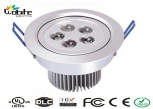 China Outdoor Recessed Lighting Fixtures / 5W LED Ceiling Light Recessed Energy Saving on sale