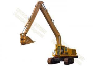 China CAT245 20m Long Reach Excavator Booms Max Reach 21400mm 0.8 Cum Rock Bucket on sale