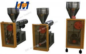 China Small Plastic Extrusion Machine 60 rpm Screw Maximum Rotating Speed on sale