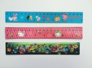 China PP Ruler 3d Lenticular Printing Services For Kids 0.38 mm / 0.45 mm / 0.58 mm on sale