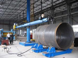 China ISO Welding Column And Boom Joint Welding Roller / Positioner Wind Tower Product Line on sale