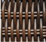 Φ8.0MMの紫外保護の円形のプラスチック藤繊維、