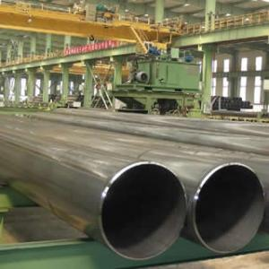 China Longitudinally Submerged Arc Welded Steel pipes, LSAW pipe on sale