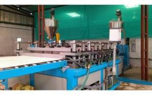China Waste Plastic Extrusion Line , WPC Foam Board Extrusion Equipment on sale