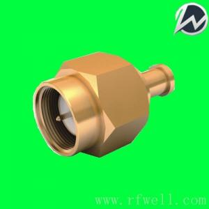 China SMA plug gold plated connector for GORE CXN3506 cable  SMA-J3506 on sale