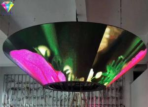China P4mm Indoor Creative LED Display Funnel - Shaped LED Display 110V-240V on sale