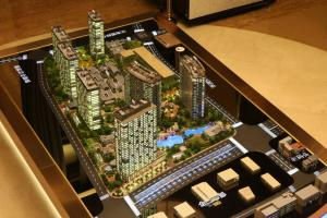 China laser cut architectural models,  building scale model maker  in China supplier