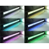 Halo RGB Off Road LED Light Bar Straight Black Housing Spot / Flood / Combo