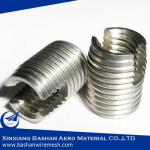 303 M4 self tapping threaded inserts for plastic screw blind holes China Bashan Manufacturer