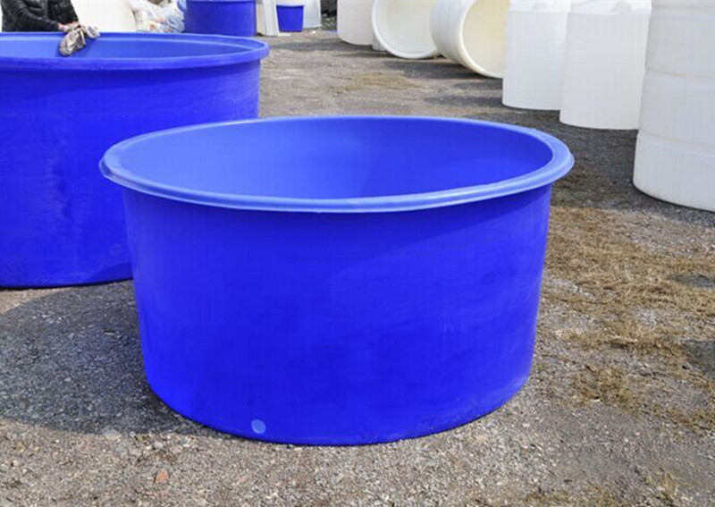 3500 Liter No Collapsible Aquaculture Circle Indoor