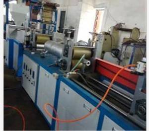China Small PVC Heat Shrink Tubing Flat Blown Film Extrusion Machine 5.5KW Motor Power on sale