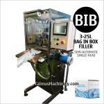 Llenador semiautomático de la Bolso-en-caja del equipo de envasado del agua del bolso de la máquina de rellenar del BABERO