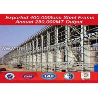 High Strength prefab steel building / workshop with Long using life