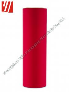 China 3 Inch Core Red BOPP Soft Touch Laminating Film on sale