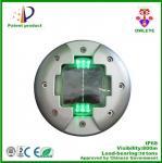 Traffic safety equipment solar road stud,IP68 aluminum cat eye road marker super bright LED road stud