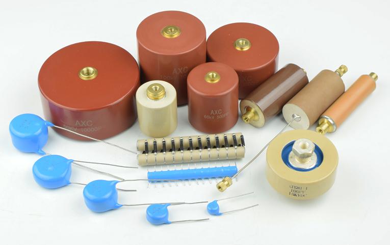 ceramic 1400pF doorknob capacitor Murata 20KV N4700