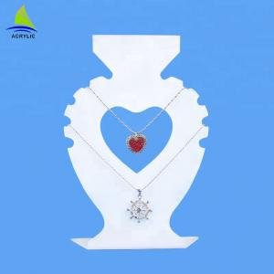 China Attractive Graphic Designing Unique Necklace Display Holder Wholesale on sale