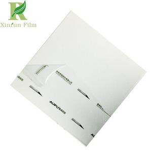 China 0.03-0.2mm Aluminum Ceiling Surface Protective Film With Printing on sale