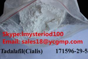 China Pharmaceutical 171596-29-5 Sex Steroid Hormone Powder Tadalafil for Enhance Immune System on sale