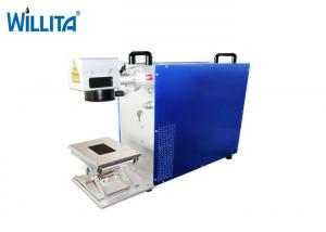 China 20W Optical Fiber Laser Marking Printing Machine For Jewelry on sale