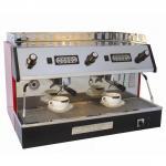 Italian Coffee Machine User - friendly Control Snack Bar Equipments 12L Capacity