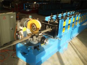 China High Speed Elevator Hollow Guide Rail Cold Roll Former Double Head Decoiler on sale
