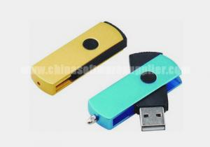 China Metal and Plastic USB Flash Drive on sale