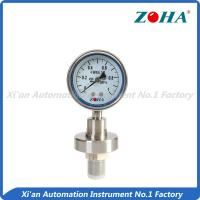 China Diaphragm Seal Stainless Steel Pressure Gauge For Chemical Industry on sale