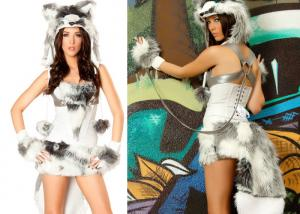 China Customized Sexy Party Adult Costumes Furry Husky New Fancy Animals Carnival on sale