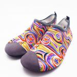 Beach Non Skid Water Shoes Water Skin Shoes Aqua Socks Van Gogh Style