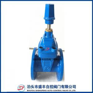 China Soupape à vanne malléable de fer de la marque DIN3352 F4 de Shengfeng avec de haute qualité et le petit prix on sale