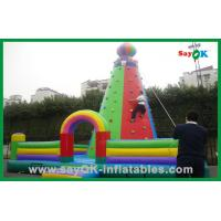 Huge Size Commercial Inflatable Bouncer / Inflatable Climbing For Event