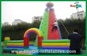 China Huge Size Commercial Inflatable Bouncer / Inflatable Climbing For Event on sale