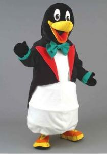 Quality Hand made Cartoon Character penguin mascot costumes for Commodity sales for sale