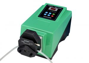China Precision Low Flow Peristaltic Pump , Green Compact Peristaltic Dosing Pump on sale