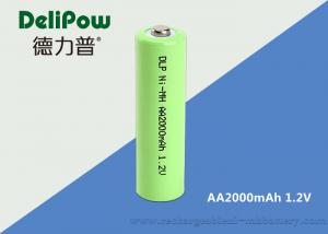 China 1.2V 2000mAh Rechargeable Aa Batteries Nimh For Communication Equipment supplier